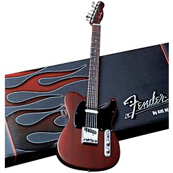 Hal Leonard Fender Telecaster Rosewood Miniature Guitar Replica Collectible (124405)