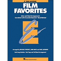 Hal Leonard Film Favorites B-Flat Tenor Saxophone (860147)