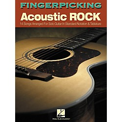 Hal Leonard Fingerpicking Acoustic Rock (Book) (699764)