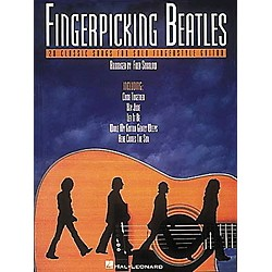 Hal Leonard Fingerpicking Beatles Guitar Tab Book (699404)