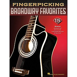 Hal Leonard Fingerpicking Broadway Favorites 15 Songs Arr. For Solo Guitar In Notation & Tab (699843)