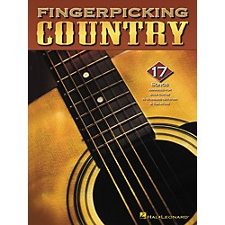 Hal Leonard Fingerpicking Country Guitar Tab Songbook (699687)