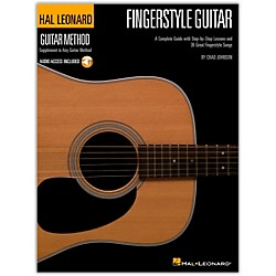 Hal Leonard Fingerstyle Guitar Method - Stylistic Supplement To The Hal Leonard Guitar Method Book/CD (697378)
