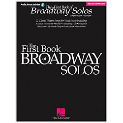 Hal Leonard First Book Of Broadway Solos For Mezzo-Soprano Book/CD Package (740135)