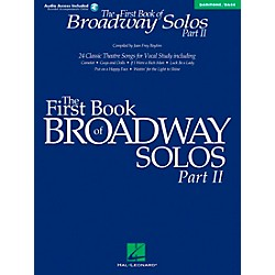 Hal Leonard First Book Of Broadway Solos Part II Baritone / Bass Book/CD (1114)