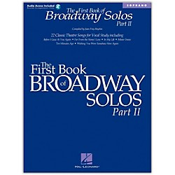 Hal Leonard First Book Of Broadway Solos Part II For Soprano Book/CD (1111)