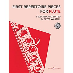 Hal Leonard First Repertoire Pieces For Flute Book/CD Includes Piano Accompaniment (48022492)