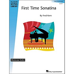 Hal Leonard First Time Sonatina - Level 1 Hal Leonard Student Piano Library by Fred Kern (296765)