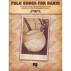 Hal Leonard Folk Songs For Banjo (701919)
