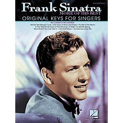 Hal Leonard Frank Sinatra - More Of His Best (Original Keys For Singers) (307081)