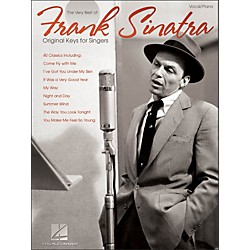 Hal Leonard Frank Sinatra - The Very Best Original Keys For Singers Vocal / Piano (306753)