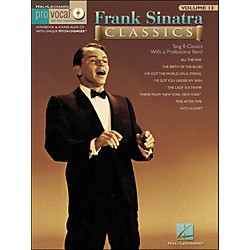 Hal Leonard Frank Sinatra Classics - Pro Vocal Songbook Volume 13 Book/CD (740347)