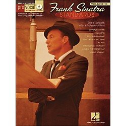 Hal Leonard Frank Sinatra Standards - Pro Vocal Series Volume 20 Book/CD (740346)