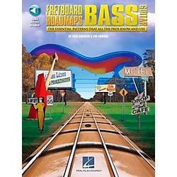 Hal Leonard Fretboard Roadmaps - Bass - The Essential Patterns That All the Pros Know and Use (Book/CD) (695840)