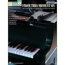 Hal Leonard From This Moment On - Pro Vocal Songbook Women's Edition Volume 50 Book/CD (740425)