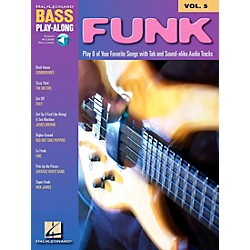 Hal Leonard Funk Bass Play-Along Series Book with CD (699680)