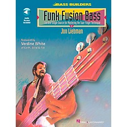 Hal Leonard Funk Fusion Bass Book/CD (696553)