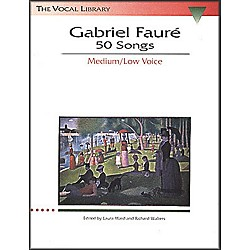 Hal Leonard Gabriel Faure - 50 Songs For Medium / Low Voice (747070)