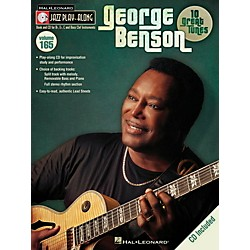 Hal Leonard George Benson Jazz Play Along Series Volume 165 Book/CD (843240)