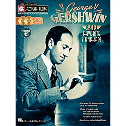 Hal Leonard George Gershwin - Jazz Play-Along, Volume 45 (Book/2CD) (103643)