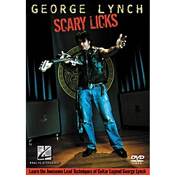 Hal Leonard George Lynch - Scary Licks DVD (320711)