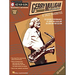 Hal Leonard Gerry Mulligan Classics Jazz Play-Along Volume 43 Book/CD (843039)