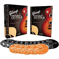 Hal Leonard Gibson's Learn & Master Guitar Boxed DVD/CD Set Legacy Of Learning Series (321113)