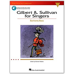 Hal Leonard Gilbert & Sullivan For Singers (The Vocal Library Series) For Baritone / Bass Book/CD (740217)