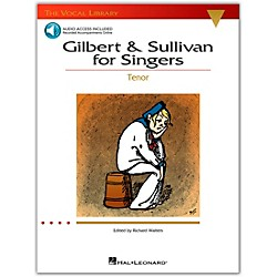 Hal Leonard Gilbert & Sullivan For Singers For Tenor Voice Book/CD (The Vocal Library Series) (740216)