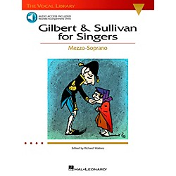 Hal Leonard Gilbert & Sullivan For Singers Mezzo-Soprano Book/CD The Vocal Library (740215)