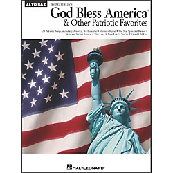 Hal Leonard God Bless America & Other Patriotic Favorites - Alto Sax (841649)