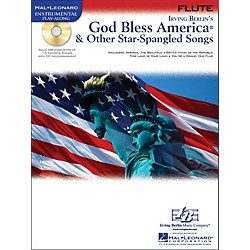 Hal Leonard God Bless America & Other Star-Spangled Songs For Flute instrumental Play-Along Book/CD (842302)