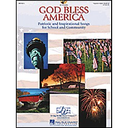 Hal Leonard God Bless America-Patriotic and Inspirational Songs for School and Community Book/CD (9970816)