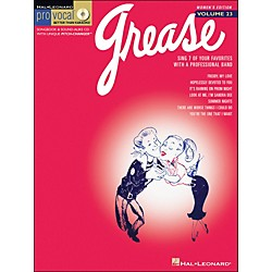 Hal Leonard Grease - Pro Vocal Series Women's Edition Volume 23 Book/CD (740369)