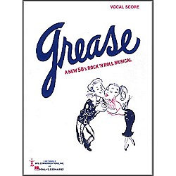 Hal Leonard Grease Vocal Score Songbook (383674)