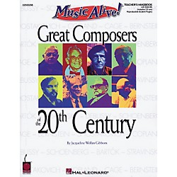 Hal Leonard Great Composers of the 20th Century (Book/CD) (2500298)
