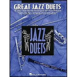 Hal Leonard Great Jazz Duets For Clarinet (841017)