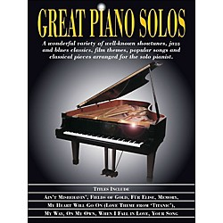Hal Leonard Great Piano Solos (311273)