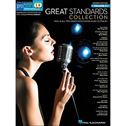 Hal Leonard Great Standards Collection - Pro Vocal Songbook & 2 CD's For Female Singers Volume 51 (740426)