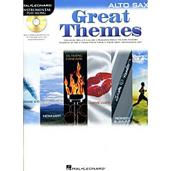 Hal Leonard Great Themes - Instrumental Play-Along Book/CD (842470)