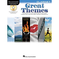 Hal Leonard Great Themes - Instrumental Play-Along Book/CD (842469)