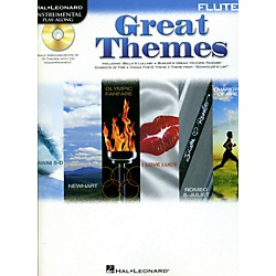 Hal Leonard Great Themes - Instrumental Play-Along Book/CD (842468)