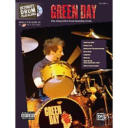 Hal Leonard Green Day Ultimate Drum Book and Play-Along CD (700162)