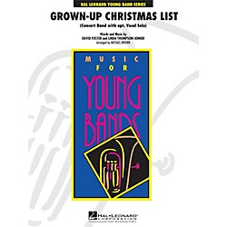 Hal Leonard Grown-Up Christmas List (With Optional Vocal Solo) - Young Concert Band Series Level 3 (4001331)