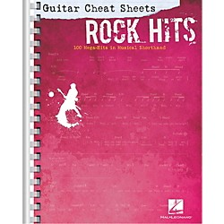 Hal Leonard Guitar Cheat Sheets - Rock Hits 100 Mega-Hits in Musical Shorthand (702392)