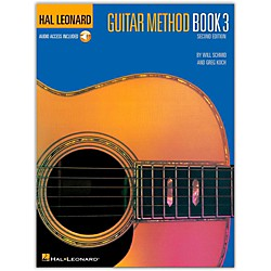 Hal Leonard Guitar Method - Book 3 Book/CD (697316)