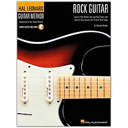 Hal Leonard Guitar Method - Rock Guitar Book/CD (697319)