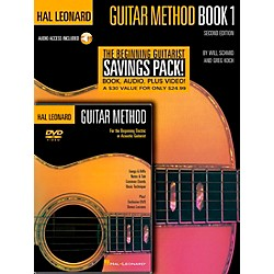 Hal Leonard Guitar Method Book 1 / CD / DVD (697341)