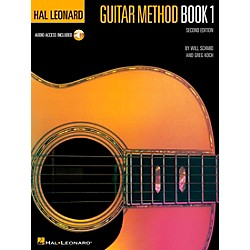 Hal Leonard Guitar Method Book 1 (CD and Book) (699027)
