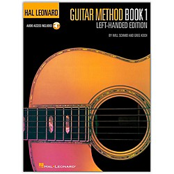 Hal Leonard Guitar Method Book 1 with CD (Left-Handed Edition) (697399)